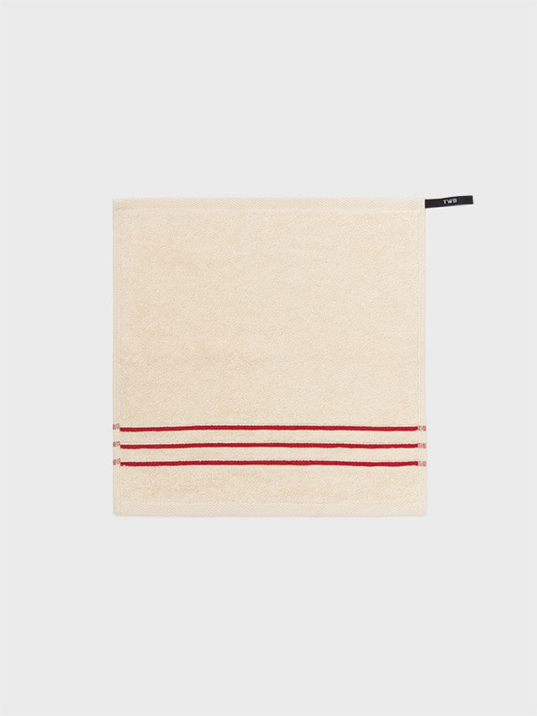 [PREMIUM STRIPE HAND]NATURAL RED