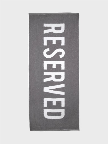 [BEACH TOWEL]RESERVED