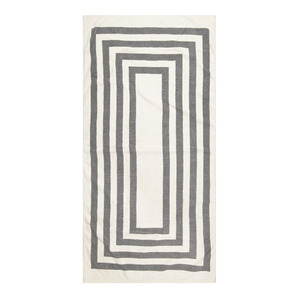 [VINTAGE BEACH TOWEL]GRAY