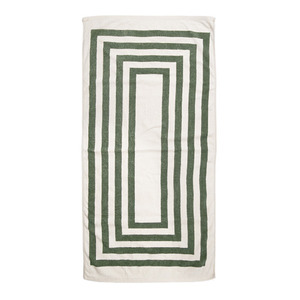 [VINTAGE BEACH TOWEL]KHAKI